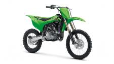 Mold your aspiring racer by bridging the gap to full-size bikes with the KX 100 dirt bike.