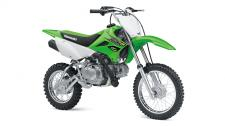 THE KLX110L MOTORCYCLE IS THE BIGGER BROTHER TO THE KLX110 OFF-ROAD MOTORCYCLE. IT FEATURES A TALLER SEAT HEIGHT AND A MANUAL CLUTCH. 112cc air-cooled, 4-stroke engine provides smooth power and rock solid reliability 4-speed transmission with manual clutch to learn big bike shifting techniques Taller 28.7 inch seat height and higher 10.4 inch ground clearance Sporty styling featuring Lime Green bodywork provides race-inspired good looks