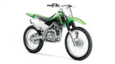 The KLX140G motorcycle is over 30 pounds lighter than all other competitors*, offering confidence-inspiring performance in an easy-to-ride package. This off-road motorcycle features full-size wheels, comfortable ergonomics and light, nimble handling that is appreciated by riders of all skill levels. This combination allows riders to focus on fun, while the dependability and low-maintenance of the KLX140G make it the ultimate companion on the trail.​​​​​