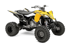 The YFZ450R SE stands out with its stunning 60th anniversary heritage racing color and graphic scheme.