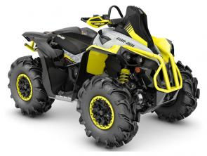 The most capable mud-ready ATV on the market. The X mr family was built to play where others dont dare tread.