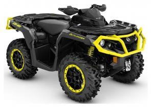 Take command of unmatched all-terrain performance with the new 2019 Outlander XT ATV.