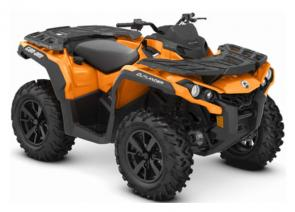 Take command of unmatched all-terrain performance with the new 2019 Outlander DPS ATV.