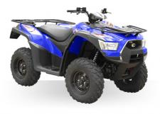 The basic MXU 500i enjoyed a complete makeover for 2016 with upgrades in both form and function. Powered by a fuel-injected 499cc, liquid-cooled, DOHC engine developing 36 horsepower, it now features a more durable chassis and re-designed running gear components that make it tough enough for utility purposes and maneuverable enough to handle any recreational challenge. Dual A-arm suspension, on-demand 2/WD and 4/WD, hydraulic disc brakes and KYMCO's CVT automatic transmission complete the redesign which also includes a 187-pound rack, 1050 pound towing capacity, a standard 2-inch receiver hitch and storage under the front and rear fenders.
