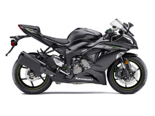 Championship technology comes to the middleweight class with the Ninja ZX-6R. With the biggest engine in its class, the 636cc inline four-cylinder engine outperforms the competition.