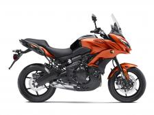 "Its combination of long-travel suspension, sporty 17"" wheels, a slim upright riding position and a low-mid range focused parallel-twin engine result in a highly versatile package offering riders maximum riding excitement."