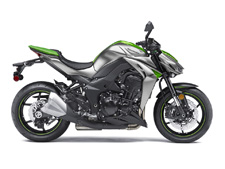 "The twist of a grip, the growl of the engine, the adrenaline-pumping thrust of torque – when the raw elements of sport riding are all you crave, look to the Kawasaki Z1000 ABS. Pared down to the basics of performance, this no-frills ""Urban Streetfighter"" harnesses open-class power in a compact chassis with bold styling, minimal bodywork and lots of attitude."