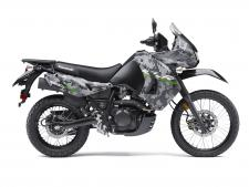 The rugged and tough 2016 Kawasaki KLR650 motorcycle is built for adventure. Riders on pavement or off-road will benefit from the KLR650 motorcycle's phenomenal fuel range and dual-purpose capabilities.