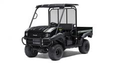 Great looks, comfort and convenience highlight this Special Edition. The MULE™ 4010 4×4 SE side x side is a powerful mid-size two-passenger workhorse that's capable of putting in a hard day of work as well as touring around the property.  SE features include high-output LED headlights, sun top, and SE color graphics 617cc fuel-injected, V-Twin engine produces reliable performance Selectable 2WD or 4WD with dual-mode rear differential Capable of hauling up to 800 lbs. (steel cargo bed) and towing 1,200 lbs. Electric Power Steering (EPS) provides all-day driving comfort Backed by the industry-leading Kawasaki Strong 3-Year Limited Warranty