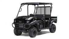 Great looks, comfort and convenience highlight this Special Edition. The MULE™ 4010 Trans4x4® SE side x side is a versatile mid-size two to four-passenger side x side that's capable of putting in a hard day of work as well as touring around the property.  SE features include high-output LED headlights, sun top, and SE color graphics 617cc fuel-injected, V-Twin engine produces reliable performance Selectable 2WD or 4WD with dual-mode rear differential Capable of hauling up to 800 lbs. (steel cargo bed) and towing 1,200 lbs. Electric Power Steering (EPS) provides all-day driving comfort Backed by the industry-leading Kawasaki Strong 3-Year Limited Warranty