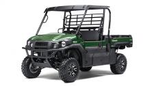 As the newest edition to the MULE family, the MULE PRO-FX is our fastest, most powerful, three-passenger MULE side x side ever. Built on the same rugged platform as the PRO-FXT, this revolutionary side x side also comes equipped with the largest cargo bed in its class. To top it off, the PRO-FX is backed by the Kawasaki Strong 3-Year Limited Warranty.