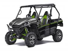 Known for its legendary V-Twin power and versatility, the Kawasaki Teryx® is ready to tackle the toughest of obstacles. Built with Kawasaki Heavy Industry strength and backed by the Kawasaki Strong 3-Year Warranty, the Teryx side x side is the ultimate off-road adventure partner.
