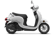 Has there ever been a scooter that's as cool and as much fun as the Honda Metropolitan? This little two-wheeled wonder has been a favorite for years. So stylish and smart, everybody who sees one instantly falls in love with it. And now, for 2016, the Metropolitan is better than ever. First, there's the fresh, new style—that you can see for yourself. But what you can't see is a beauty that's more than skin deep—the Metropolitan's new liquid-cooled four-stroke Honda engine. It offers the kind of Honda reliability no other scooter in the class can touch. But we kept the best parts of the Metropolitan too: the practical under-seat storage area, the no-shift automatic transmission, and the fun and freedom that have always been standard equipment on this little two-wheel wonder.
