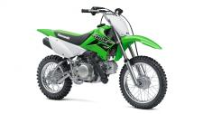 The KLX110 motorcycle is a versatile off-road bike with a low seat height, long travel suspension and an automatic clutch for a fun, confidence inspiring ride.  112cc air-cooled, four-stroke engine provides smooth power and rock solid reliability Four-speed transmission with automatic clutch for stall-free shifting 26.8-inch seat height Sporty styling featuring lime green bodywork for race-inspired good looks