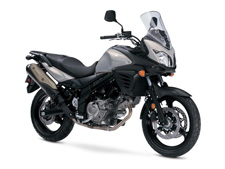 The Suzuki V-Strom 650 was designed with more than comfort in mind. Over the previous generation, it enhanced the running performance and in-town versatility of the popular V-Strom brand. The 645 cc, V-twin engine features outstanding performance in low-to-mid rpm range and has impressive styling that stands out in form and function. The V-Strom 650 ABS is an environmentally friendly vehicle that has excellent fuel economy for daily commuting and weekend touring. The Suzuki V-Strom 650 is just what you dreamed of to tackle on your exotic getaway.