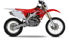 It's a dream everyone had, but nobody could deliver on—until Honda invented the CRF450X. The light weight and power of a motocross bike, available to trail riders, Baja demons, and cross-country racers everywhere. But actually the CRF450X is a whole lot better than just an MX bike off the track. It gets a ton of specialized touches and refinements that hone it for the trail.