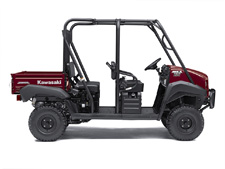 THE MULE 4010 TRANS4X4 SIDE X SIDE IS A VERSATILE MID-SIZE TWO- TO FOUR-PASSENGER WORKHORSE THAT'S CAPABLE OF PUTTING IN A HARD DAY OF WORK AS WELL AS TOURING AROUND THE PROPERTY.