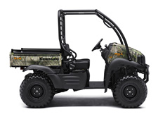 PACKED WITH VALUE AND UNDENIABLE CAPABILITY, THE NEW 2017 MULE SX 4X4 XC CAMO SIDE X SIDE IS AN EASY TO USE HUNTING MACHINE WITH TRAIL-ACCESSIBLE WHEELS AND TIRES AND A RUGGED APPEARANCE.