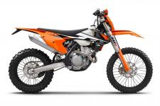 "Do you believe in reincarnation? Whoa, that's a heavy topic for a dirt bike magazine but we're not talking about people. We are talking about the spirit of one motorcycle living again in the body of a new motorcycle. Still confused? We'll be plain. For 2017 the KTM EXC-F (yes, there is an ""F"" now) line of motorcycles are all new but at the same time have the spirit of both the EXCs and the XCF-Ws of the past."