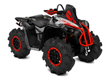 The Renegade X mr 1000R is the most powerful mud ready ATV on the market.
