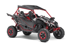 Fashionably Fast – With all‑new, high performance FOX 2.5 Podium X2 long‑travel shocks, true bead lock wheels and more, the YXZ1000R SE perfectly delivers pure sport Side‑by‑Side style and performance.