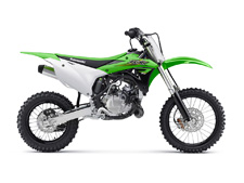 THE KX85 MOTORCYCLE IS A FIXTURE ON THE PODIUM AT MOTOCROSS RACES ACROSS THE COUNTRY. DELIVERING A WINNING COMBINATION OF POWER, AGILITY AND ADJUSTABILITY