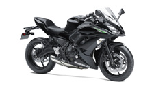 Strong power and nimble handling highlight the new 2017 Ninja 650 motorcycle. Exciting and easy to ride with sporty performance and aggressive styling, the modern Ninja 650 stays true to its Ninja roots. Rounding out the package, a comfortable and adaptable upright riding position makes the Ninja 650 an exceptional everyday ride.