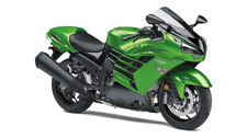 The Ninja ZX-14R ABS SE motorcycle's ultra-powerful 1,441cc inline four-cylinder engine puts it at the top of its class. Advanced electronics, an innovative monocoque frame and stunning bodywork makes the Ninja ZX-14R ABS SE a sensation you have to see–and feel–to believe.