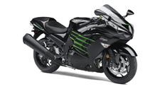 The Ninja ZX-14R ABS motorcycle's ultra-powerful 1,441cc inline four-cylinder engine puts it at the top of its class. Advanced electronics, an innovative monocoque frame and stunning bodywork makes the Ninja ZX-14R ABS a sensation you have to see–and feel–to believe.