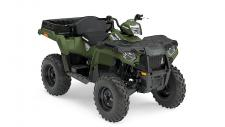 Sportsman 570 X2 features a large rear dump box. Load it with 400 lbs. of material and supplies to get any job done or pack in all your gear for a long day on the trail or hunt. Easily switches from 1-up work and trail mode to 2-up trail mode in less than 10 seconds. With 44 Horsepower, Electronic Fuel Injection (EFI) and Dual Overhead Cams with 4 valves per cylinder, the 570 starts flawlessly and runs smoothly in varied temperature and altitude. And when compared to Honda® Foreman® the Sportsman 570 delivers 44% more power to tow more, haul more and go further. Engine Braking System (EBS) and Active Descent Control (ADC) work together to provide four wheel braking for optimum control and smooth, even deceleration during descents. The high-performance close ratio AWD system is the fastest engaging AWD system available. The instant you need more traction the system engages all four tires to give you forward traction while working with the Electronic Power Steering system for precision handling. The system automatically reverts back to 2WD when you're back on solid ground.