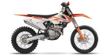 KTMs 2017 250 XC-F was built with the serious off-road enthusiast in mind. 250cc of power, a 38-inch seat height, and a sticker price of $8,999 differentiate this KTM in what has become a highly competitive segment of the motorcycle market. Built in Austria but ridden the world over, the 250 XC-F was designed to be taken straight off the showroom floor and ridden away from the truck and into the elements - a 2.2-gallon tank provides fuel for the journey. Of course, a wide variety of mods for the 250 XC-F are available through a number of aftermarket companies in order to help you fine-tune this KTM to your exact liking, although some of these changes may render it a competition-only machine.