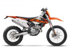 Fill an agile, state-of-the-art chassis with an engine delivering class-leading power and torque. Then dress it with top class components, ensuring that the new 4-stroke maintains its edge over the competition. The result is a READY TO RACE dual sport suitable for amateur explorers, while still satisfying the pros. Eat that, adversaries.