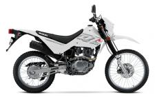 The 2018 Suzuki DR200S is the affordable motorcycle that can tackle a dirt trail or be a street commuter that gets 88MPG with its reliable 199cc engine complete with push-button electric-starting, telescopic front forks, a 3.3 gallon tank, and abundant torque. This makes the DR200S is the intelligent choice for trail enthusiasts and commuters alike. With sharp, competition-like styling, a choice of Champion Yellow or Solid Special White bodywork with new, distinctive graphics, and a reasonable 33.3 inch seat height, this 278 pound cycle delivers the agile maneuverability and fun Suzuki is known for.