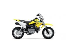 The time has come to get your little ones on the dirt! The Suzuki 2018 DR-Z70 brings ease and convenience to young riders getting started on two wheels. With an automatic clutch, 3-speed transmission, electric starting and a low 22-inch seat height, this race styled bike will help build confidence and riding ability for young supervised riders. The 67cc engine delivers a smooth, controllable powerband and adult supervisors can adjust its power level so young riders can learn at a proper pace.