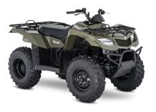Whether you're working hard or getting away from it all, the 2018 Suzuki KingQuad 400ASi helps you every step of the way. The fully automatic Quadmatic transmission has two and four-wheel drive modes to handle rough trail conditions while completing even the most demanding chores. Along with exceptional engine performance across the powerband, its high-performance iridium spark plug and Pulsed-secondary AIR-injection (PAIR) system helps provide outstanding fuel efficiency, and clean emissions.
