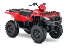 The 2018 Suzuki KingQuad 500AXi Power Steering boasts the same advanced technology as the extraordinary KingQuad 750AXi. It's engineered to help you tackle tough trails and tougher jobs. Its innovative, electronic power steering system reduces turning effort and damps vibration to the rider. The 500AXi Power Steering power plant features a precise Suzuki fuel injection system and twin iridium spark plugs ensure easy starting, excellent throttle response, great fuel efficiency, and reduced emissions. The advanced chassis lets you float over rough obstacles with ease while still being able to haul or tow what you need to get the job done.