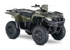 Taking advantage of Suzuki's three-decades-plus experience with four-wheelers, the 2018 Suzuki KingQuad 750AXi is designed for phenomenal performance on the trail or on the job. Its fuel-injected engine features a twin-spark-plug cylinder head with iridium, projection-type spark plugs, and refined intake and exhaust cam profiles for quick starting in cold weather and smooth, strong overall performance. The KingQuad's advanced chassis lets you float over rough obstacles with ease while still being able to haul or tow what you need to get the job done.