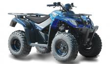 The MXU 270 is an ATV short in altitude, tall in attitude. There's nothing like the KYMCO MXU 270's light-duty level of can-do performance. It can tow and carry over 500-lbs., perform as an awesome trail bike, and do farming duties, making the MXU 270 a hands-down thumbs-up value leader. Designed for riders 14-years old or over, the MXU 270 is the ATV for novice riders. Around the ranch, the yard, or the farm's lower forty, it makes quick work of chores with its 270cc liquid-cooled, carbureted, 4-stroke engine, and automatic CVT transmission with F-N-R selection.Shaft drive, dual A-arm front and swingarm rear suspension, preload adjustable shocks, dual-disc front and single-disc rear brakes, 22-inch tires, and cargo racks add to its value. Available in Red, Tan, Green, or Blue. ATV riders younger than 16 years of age must be supervised by an adult, and should take a training course. This item may not be available immediately in dealer stock. Some items may need to be ordered. See terms for details. 11194