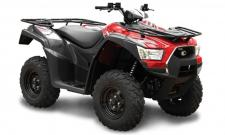 "The MXU 500i is the mid-sized base model ATV for cost conscious consumers, yet it's loaded with go-anywhere capabilities. Powered by a 501cc, fuel-injected, liquid-cooled, 4-stroke, 4-valve, engine, it features push-button, on-demand, 2WD/4WD, driven by KYMCO's always-in-the-right-gear automatic CVT transmission, with H-L-N-R-P drive modes. This ATV also features dual A-arm suspension and stopping power provided by hydraulic dual-disc front brakes and shaft-mounted hydraulic disc rear brake. The chassis offers a Platte River-crossing clearance of 10.4-inches. KYMCO's active Engine Braking accentuates control over the toughest terrain or roughest incline, and the MXU 500i comes outfitted with left and right locking topside fender storage, right-rear under-fender storage, a 12v accessory outlet and 26"" tires and steel wheels. Available in Red, Blue, Green. This item may not be available immediately in dealer stock. Some items may need to be ordered. See terms for details. 11198"