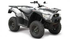 KYMCO MXU 700i LE EPS is a high-range mid-optioned ATV with aluminum alloy wheels; electronic power steering (EPS); and a 3,000 lb. winch. Powered by a 695cc, fuel-injected, liquid-cooled, 4-stroke, 4-valve, engine, the MXU 700i LE EPS features push-button, on-demand, 2WD/4WD, driven by KYMCO's automatic CVT transmission with H-L-N-R-P drive modes. Dual A-arm suspension is at each corner, with hydraulic dual-disc front brakes and shaft-mounted hydraulic disc rear brakes slowing this ATV. The chassis provides a watermelon-clearing 10.4-inches of ground clearance, with KYMCO's active Engine Braking accentuating control over tough, tricky, terrain. The MXU 700i LE comes with left and right locking topside fender storage, right-rear under-fender storage, a 12v accessory outlet, and is available in Diamond Silver. This item may not be available immediately in dealer stock. Some items may need to be ordered. See terms for details. 11200