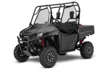 2018 HONDA PIONEER 700 DELUXE MATTE GRAY METALLIC  If you were stuck on one of those desert-island reality TV shows, what would you take with you? There's no perfect choice, but a folding multitool or a Swiss pocket knife would probably be a great start.  Now, think of the world of side-by-sides. Which one most closely approximates a premium multitool: versatile, well-built, something you can count on in a wide variety of situations? The answer: a Honda Pioneer 700.  Displacement and size-wise, it sits right in the middle of our Pioneer lineup, which makes it not too big and not too small. You can configure it to carry two or four people, and can further refine it with trim packages and other features. The overall size and Honda refinement means it handles like a dream—a claim few other side-by-sides can make. And best of all, the Pioneer 700s are comfortable, a joy to drive in conditions that would wear you out on another side-by-side.  PIONEER 700 DELUXE Adds: Power Steering, AT/MT Mode, Paddle Shifters   247004