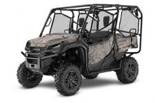 2018 HONDA PIONEER 1000-5 DELUXE PHANTOM CAMO  All side-by-sides face the same challenges, but it's how they solve them that sets Honda's Pioneers apart. Smart technology. Superior materials. Refined engineering. And something nobody else can match: Honda's well-earned and world-famous reputation for reliability and overall quality. And the farther you go or the harder you work, the more that means. This year's Honda Pioneer 1000 lineup is a perfect example. These great side-by-sides got it right the first time in terms of comfort, handling, hauling, and user-friendly features. Available in both three- and five-seat versions, in addition to their innovative features, from our flagship Pioneer 1000-5 Limited Edition right through our line to the Pioneer 1000, you can count on a Honda, year after year, mile after mile, adventure after adventure. PIONEER 1000-5 DELUXE Adds: LED headlights, 14 aluminum wheels, available Honda Phantom Camo®  247193