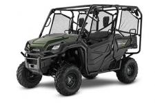 2018 HONDA PIONEER 1000-5 OLIVE  All side-by-sides face the same challenges, but it's how they solve them that sets Honda's Pioneers apart. Smart technology. Superior materials. Refined engineering. And something nobody else can match: Honda's well-earned and world-famous reputation for reliability and overall quality. And the farther you go or the harder you work, the more that means. This year's Honda Pioneer 1000 lineup is a perfect example. These great side-by-sides got it right the first time in terms of comfort, handling, hauling, and user-friendly features. Available in both three- and five-seat versions, in addition to their innovative features, from our flagship Pioneer 1000-5 Limited Edition right through our line to the Pioneer 1000, you can count on a Honda, year after year, mile after mile, adventure after adventure. PIONEER 1000-5 Adds: QuickFlip® seating, auto leveling suspension  247146