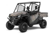 2018 HONDA PIONEER 1000 EPS PHANTOM CAMO  All side-by-sides face the same challenges, but it's how they solve them that sets Honda's Pioneers apart. Smart technology. Superior materials. Refined engineering. And something nobody else can match: Honda's well-earned and world-famous reputation for reliability and overall quality. And the farther you go or the harder you work, the more that means. This year's Honda Pioneer 1000 lineup is a perfect example. These great side-by-sides got it right the first time in terms of comfort, handling, hauling, and user-friendly features. Available in both three- and five-seat versions, in addition to their innovative features, from our flagship Pioneer 1000-5 Limited Edition right through our line to the Pioneer 1000, you can count on a Honda, year after year, mile after mile, adventure after adventure. PIONEER 1000 EPS Adds: Power steering, tilt steering wheel, paddle shifters, sport mode  247153
