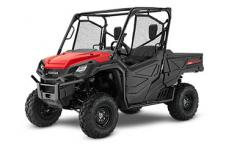 2018 HONDA PIONEER 1000 RED  All side-by-sides face the same challenges, but it's how they solve them that sets Honda's Pioneers apart. Smart technology. Superior materials. Refined engineering. And something nobody else can match: Honda's well-earned and world-famous reputation for reliability and overall quality. And the farther you go or the harder you work, the more that means. This year's Honda Pioneer 1000 lineup is a perfect example. These great side-by-sides got it right the first time in terms of comfort, handling, hauling, and user-friendly features. Available in both three- and five-seat versions, in addition to their innovative features, from our flagship Pioneer 1000-5 Limited Edition right through our line to the Pioneer 1000, you can count on a Honda, year after year, mile after mile, adventure after adventure.  PIONEER 1000: 999cc engine, DCT transmission  247138