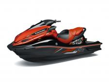THE JET SKI® ULTRA® 310X SE IS THE MOST POWERFUL PRODUCTION PERSONAL WATERCRAFT IN THE WORLD. PERIOD. IT'S ALSO ONE OF THE MOST ADVANCED, WITH A DEEP-V HULL THAT PROVIDES CLASS-LEADING PERFORMANCE IN ROUGH WATER. 1,498cc, inline 4-cylinder marine engine with supercharger and intercooler Advanced technology including: Electronic Throttle Valves (ETV), cruise control, 5mph and fuel economy modes 5-way adjustable handlebar suits a wide range of riders and riding styles Fully sealed, class-leading 56 gallons of storage capacity Kawasaki Smart Steering® system assists in watercraft handling when the throttle is quickly released at high speed Smart Learning Operation (SLO) mode limits engine speed enabling new riders to become familiar with the Jet Ski watercraft 3-person seating capacity Special Edition Ebony/Candy Burnt Orange paint