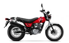 Here's the VanVan 200; motorcycling's extraordinarily retro, funky machine that has formed a growing cadre of admirers. The VanVan is a machine that stands out from the crowd and one that certainly punches well above its weight and class. It has long been a traditional urban adventurer and has grown into an alternative bike that's now taking enthusiasts on long-distance riding trips just for the fun of it. Its distinctive retro look gives the VanVan its traditional charm and unique character.