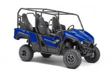 Real World Tech Yamaha's advantages in the side-by-side industry are easily seen in the technology that comes standard with every Wolverine X4™: Yamaha's driver-centric On-Command 4WD, ultra-reliable Ultramatic CVT and industry-leading, speed-sensitive Electric Power Steering. Advanced Suspension System Plush, well-damped suspension perfectly balances comfort with chassis control and bump absorption. Advanced rear self-leveling shocks automatically adjust for changes in vehicle and passenger loads to ensure ideal chassis performance with every ride. New 847cc Twin-Cylinder Powerplant Featuring drive-by-wire throttle, a 270-degree crankshaft design and lightweight internals, the Wolverine X4 shares performance technology with Yamaha's class-leading sportbikes, for thrilling power on every ride. Room for Four With high-back seats and plenty of legroom, the Wolverine X4 offers comfortable, secure seating for four full-sized adults. The second row is raised for excellent visibility, with comfortable handholds and three-point seatbelts for each seat. Versatility Unequaled The Wolverine X4 offers a balance of work-ready functionality, refined comfort and trail-proven capability that confirming Yamaha is the ultimate outdoor adventure partner.