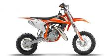 Its widely known that kids are the future of the world, and what better way to raise those kids than on a KTM dirt bike? Made in Austria and built specifically for the youth rider, the 2018 50 SX brings big-bike performance to a pint-sized package. So long as junior is comfortable with a 27-inch seat height and 92-pound dry weight, the 50 SX should be a great learning tool for your youngster. The 49cc package may not be small, but depending on what your kid is looking for, it may be the perfect amount of punch to haul them around as they develop their skills and create awesome memories.