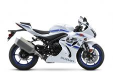 It has been three decades, with more than a million editions sold, since the GSX-R line was born. And a decade and a half has elapsed since the first GSX-R1000 transformed the open sportbike class forever. Built to Own the Racetrack, the GSX-R1000 captured the MotoAmerica Superbike Championship in its debut year asserting its claim as The King of Sportbikes.  This motorcycle's chassis forms the lightest, the most compact, the most aerodynamic and the best-handling GSX-R1000 ever. Cradled in this aluminum frame is an advanced engine that uses an exclusive Variable Valve Timing system and Ride-by-Wire throttle bodies for a wide spread of power while delivering smooth and precise throttle response  Using an Inertial Measuring Unit (IMU) the GSX-R1000's advanced electronics package includes selectable performance modes so the motorcycle enhances and fine tunes rider inputs. The six-axis IMU lets the GSX-R1000 recognize its position on the street or race track to help the rider achieve an extraordinary level of riding performance.  Up front, the unique BREMBO T-drive brake rotors are grasped by Monobloc calipers to deliver strong, controlled braking, while the precise and smooth SHOWA suspension keeps the sticky Bridgestone RS10 tires in touch with the road. All of this forward-looking motorcycle technology is covered in sleek, wind tunnel-developed bodywork that's uniquely GSX-R.